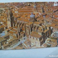 Postales: POSTAL DE SALAMANCA : CATEDRALES - VISTA AEREA . AÑOS 60. Lote 128616787
