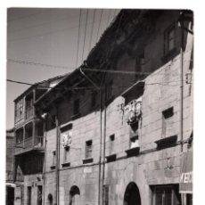 Postales: AGUILAR DEL CAMPO. PALENCIA.- ANTIGUA CALLE DEL PORTAZGO. Lote 128663619