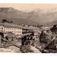Postales: BÉJAR (SALAMANCA).- LA SIERRA Y VARIAS FABRICAS. Lote 128664699