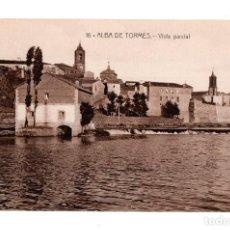 Postales: ALBA DE TORMES. SALAMANCA.- VISTA PARCIAL, EDICIÓN FÉLIX BRIZ Nº 16. Lote 128665195