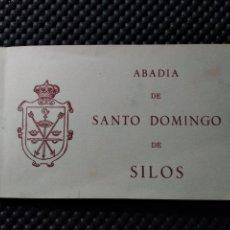 Postales: 20 POSTALES SANTO DOMINGO DE SILOS .- EDICION HAUSER Y MENET. Lote 129337304