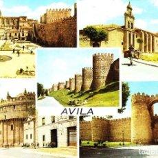 Postales: AVILA - (EDICIONES ARRIBAS Nº 2031) TEXTO EN REVERSO 1967 / P-4463. Lote 129356839