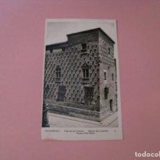 Postales: POSTAL DE SALAMANCA. CASA DE LAS COECHAS. ED. MANIPEL. CIRCULADA.. Lote 130732394