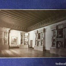 Postales: POSTAL VALLADOLID MUSEO DETALLE RETABLO SAN BENITO 121 ED GARCÍA GARRABELLA NO ESCRITA NO CIRCULADA. Lote 130762632