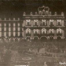 Postales: SALAMANCA Nº11 PLAZA MAYOR ILUMINADA CIRC. EN 1961. Lote 130764896