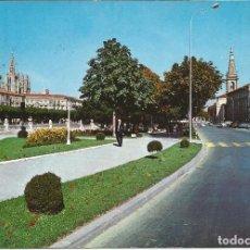 Postales: [POSTAL] PASEO Y CALLE DE LA MERCED. BURGOS (CIRCULADA). Lote 130816604