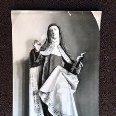 Postales: VALLADOLID POSTAL NO.180 SANTA TERESA. GREGORIO FERNÁNDEZ. EDITA: EDICIONES ARRIBAS (H.1950?). Lote 130859087