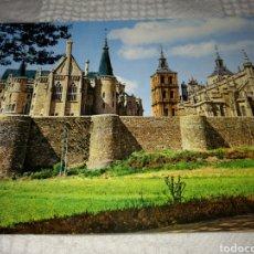 Postales: POSTAL ASTORGA LEON. CATEDRAL, PALACIO EPISCOPAL Y MURALLAS.. Lote 131076068