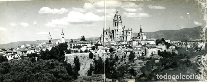 SEGOVIA. LA CATEDRAL. POSTAL SUPERPANORÁMICA. EDIC. ARRIBAS Nº 903. FOTOGRÁFICA.... (Postales - España - Castilla y León Moderna (desde 1940))