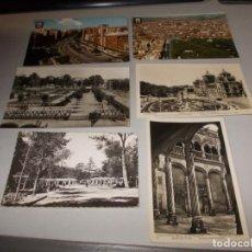 Postales: LOTE 6 POSTALES VALLADOLID, TODAS ESCRITAS. Lote 131234023