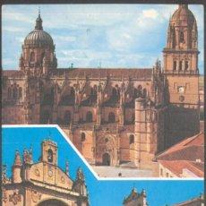 Postales: 34- SALAMANCA .- CATEDRAL Y SAN ESTEBAN. Lote 131241283