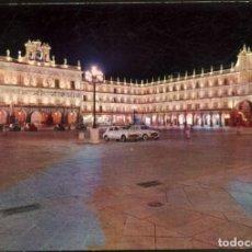Postales: 2011 - SALAMANCA.- PLAZA MAYOR. BELLO EFECTO NOCTURNO.. Lote 131242227