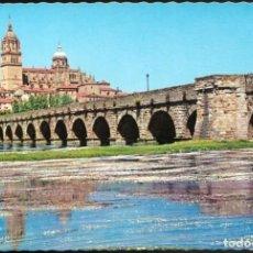 Postales: 7 - SALAMANCA .- PUENTE DE TRANSITO SOBRE EL RIO TORMES.. Lote 131242479