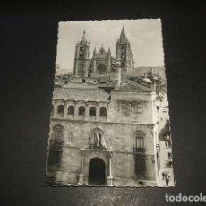 Postales: LEON DIPUTACION PROVINCIAL Y CATEDRAL. Lote 131685970