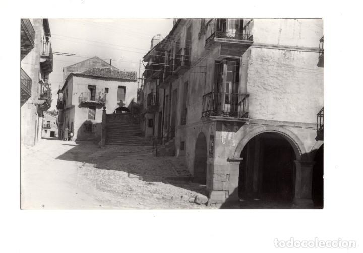 SEPULVEDA (SEGOVIA).- C.MONUMENTAL FOTO A. CRISTÓBAL (Postales - España - Castilla y León Antigua (hasta 1939))