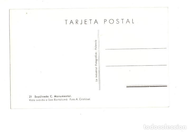 Postales: SEPULVEDA (SEGOVIA).- C.MONUMENTAL FOTO A. CRISTÓBAL - Foto 2 - 172927688