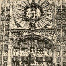 Postales: CATEDRAL DE BURGOS – IGLESIA DE SAN NICOLAS DE BARI – RETABLO GONZALEZ LOPEZ DE POLANCO - SCHAAR & D. Lote 131920938