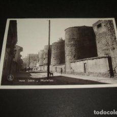 Postales: LEON MURALLAS. Lote 132162054
