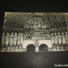 Postales: CIUDAD RODRIGO SALAMANCA CATEDRAL PUERTA DEL PERDON POSTAL FOTOGRAFICA AÑOS 30. Lote 132177206