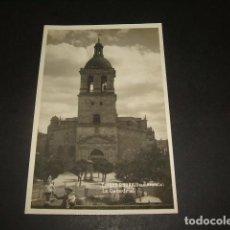 Postales: CIUDAD RODRIGO SALAMANCA LA CATEDRAL POSTAL FOTOGRAFICA AÑOS 30. Lote 132177246