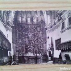 Postales: POSTAL CARTUJA DE MIRAFLORES - ALTAR MAYOR - BURGOS - SIN CIRCULAR. Lote 132215222