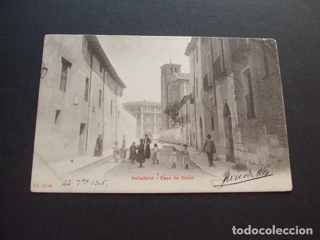 VALLADOLID CASA DE COLON (Postales - España - Castilla y León Antigua (hasta 1939))