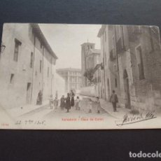 Postales: VALLADOLID CASA DE COLON. Lote 172252265