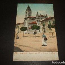 Postales: VALLADOLID IGLESIA DE NUESTRA SEÑORA DE LA ANTIGUA ED. PURGER Nº 4303 REVERSO SIN DIVIDIR. Lote 172252347