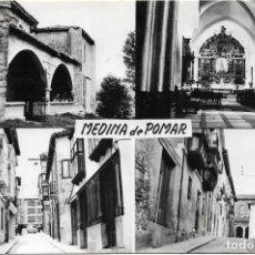 Postales: MEDINA DE POMAR Nº 70 .- VARIAS VISTAS .- FOTO VICTOR . Lote 132690702
