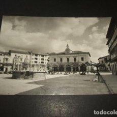 Postales: VILLARCAYO BURGOS PLAZA MAYOR. Lote 132791258
