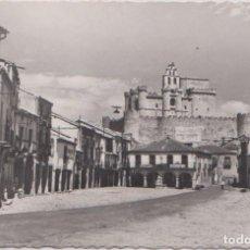Postales: TUREGANO (SEGOVIA) - PLAZA DE ESPAÑA. Lote 132894910