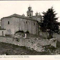 Postales: BRIVIESCA – BURGOS – SANTUARIO DE SANTA CASILDA – ABSIDE - 1955 – 9X14 . POSTAL FOTOGRÁFICA.. Lote 132929146