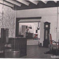 Postales: NEGATIVO EN B/N DE POSTAL DE BURGOS AÑOS 60-70: HOSTAL LANDA PALACE. Lote 133049174