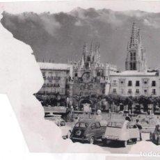 Postales: NEGATIVO EN B/N DE POSTAL DE BURGOS AÑOS 60-70: . Lote 133150302