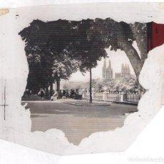 Postales: NEGATIVO EN B/N DE POSTAL DE BURGOS AÑOS 60-70: . Lote 133150690