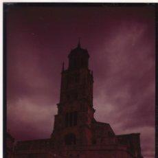 Postales: NEGATIVO EN COLOR DE POSTAL DE SANTA MARIA DEL CAMPO (BURGOS) AÑOS 60-70:. Lote 133246674