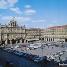Postales: SALAMANCA -PLAZA MAYOR - COCHES. Lote 133316898