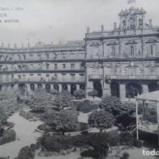Postales: SALAMANCA -PLAZA MAYOR. Lote 133316974