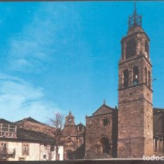 Postales: ALBERGUE NACIONAL DE CARRETERA DE PUEBLA DE SANABRIA.- IGLESIA PARROQUIAL. Lote 133627142