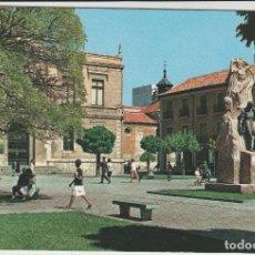 Postales: POSTALES POSTAL PALENCIA MATA SELLOS SANTOYO. Lote 133712554