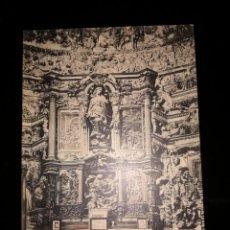 Postales: POSTAL RIOSECO. INTERIOR DE LA CAPILLA DE LOS BENAVENTES. PROPIEDAD BRUNO MERINO.. Lote 133726550
