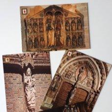 Cartoline: LOTE DE 4 POSTALES.- LEÓN, CATEDRAL. MUSEO, FOT. SUBIRATS CASANOVAS- SIN CIRCULAR (AÑOS 60-70). Lote 133758786