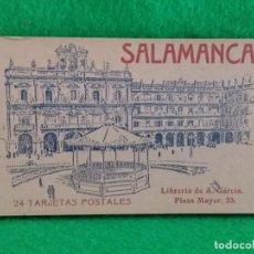 Postales: 24 TARJETAS POSTALES DE SALAMANCA LIBRERIA ANTONIO GRACIA FOTOTIPIA HAUSER Y MENET. Lote 133853886