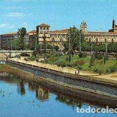 Postales: LEÓN - 91 JARDINES DEL PASEO DE LA CONDESA. Lote 134094278
