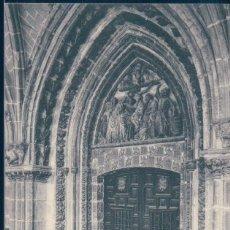 Postales: POSTAL BURGOS - CATEDRAL - CLAUSTRO - PUERTA DE LA SACRISTIA VIEJA - HAUSER Y MENET 1380. Lote 134170346