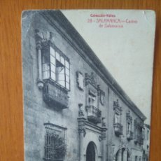 Postales: TARJETA POSTAL AÑOS 30. CASINO SALAMANCA. COLECCIÓN NÚÑEZ ,AÑOS 30. Lote 134205051