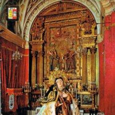 Postales: AVILA, IMAGEN DE SANTA TERESA EN LA CASA NATAL, EDITOR: DOMINGUEZ Nº 28. Lote 134215162
