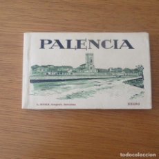 Postales: LIBRETO 20 POSTALES PALENCIA, L.ROISIN. Lote 134216434