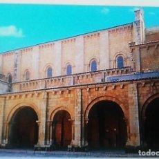 Postales: POSTAL PÓRTICO ROMÁNICO DE LA CATEDRAL DE SAN ISIDORO DE LEÓN. AÑO 2002. Lote 134314402