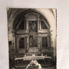 Postales: BURGOS. POSTAL NO.137 CATEDRAL. SEPULCRO DEL OBISPO DE CARTAGENA. EDITA: EDICIONES ARRIBAS (H.1950?). Lote 134349015